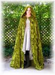 Elven Hunting Gown + Cloak