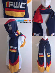 FWC Cloak Hooded Scarf (navy blue variant)
