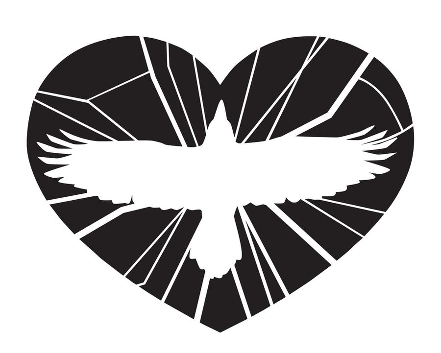Raven heart by JFeathersmith
