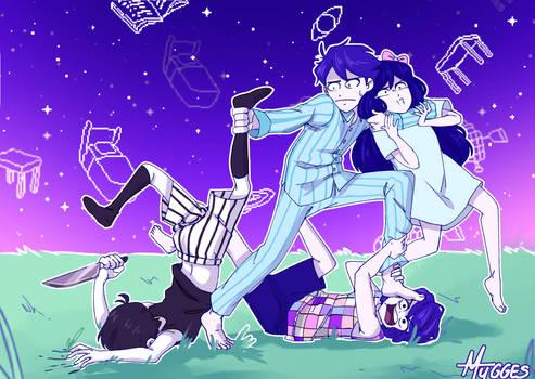 Omori Draw the Squad