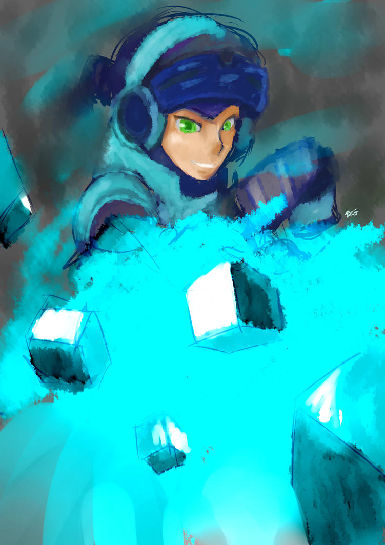New Blue Bomber, Beck by StillJade