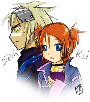 Seth and Rui - sketch by StillJade