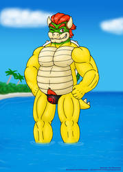 Bowser Day 2017 - A hot koopa for a hot day