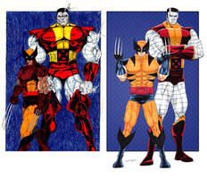Colossus and Wolverine ITME by BringerOfStorms