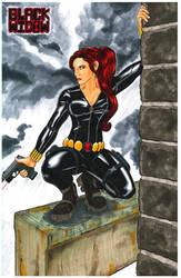 Black Widow art exchange