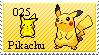 025 Pikachu Stamp by YingYangAndDew0319
