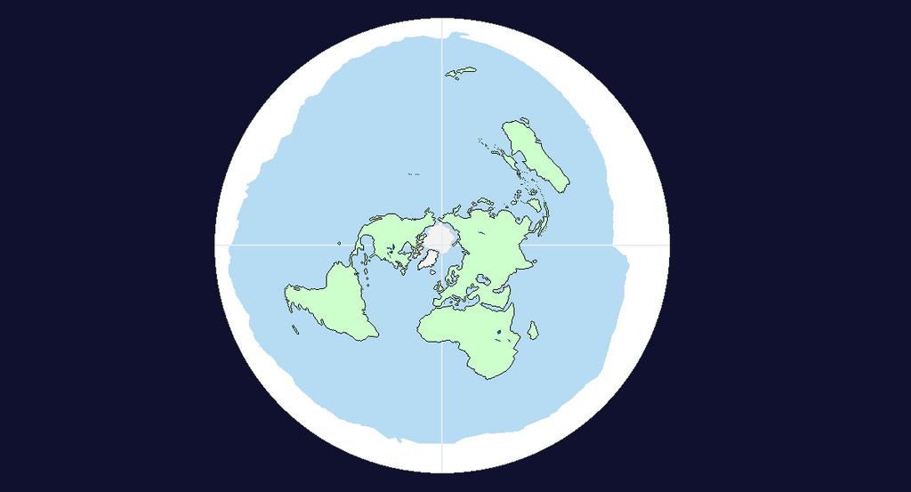 Flat earth map by jakerulez17 on deviantart flat earth map by jakerulez17 gumiabroncs Images