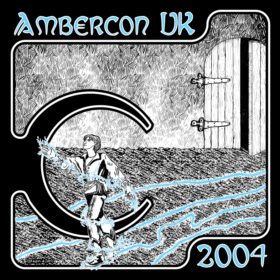 AmberCon UK 2004 T-shirt design by hermand