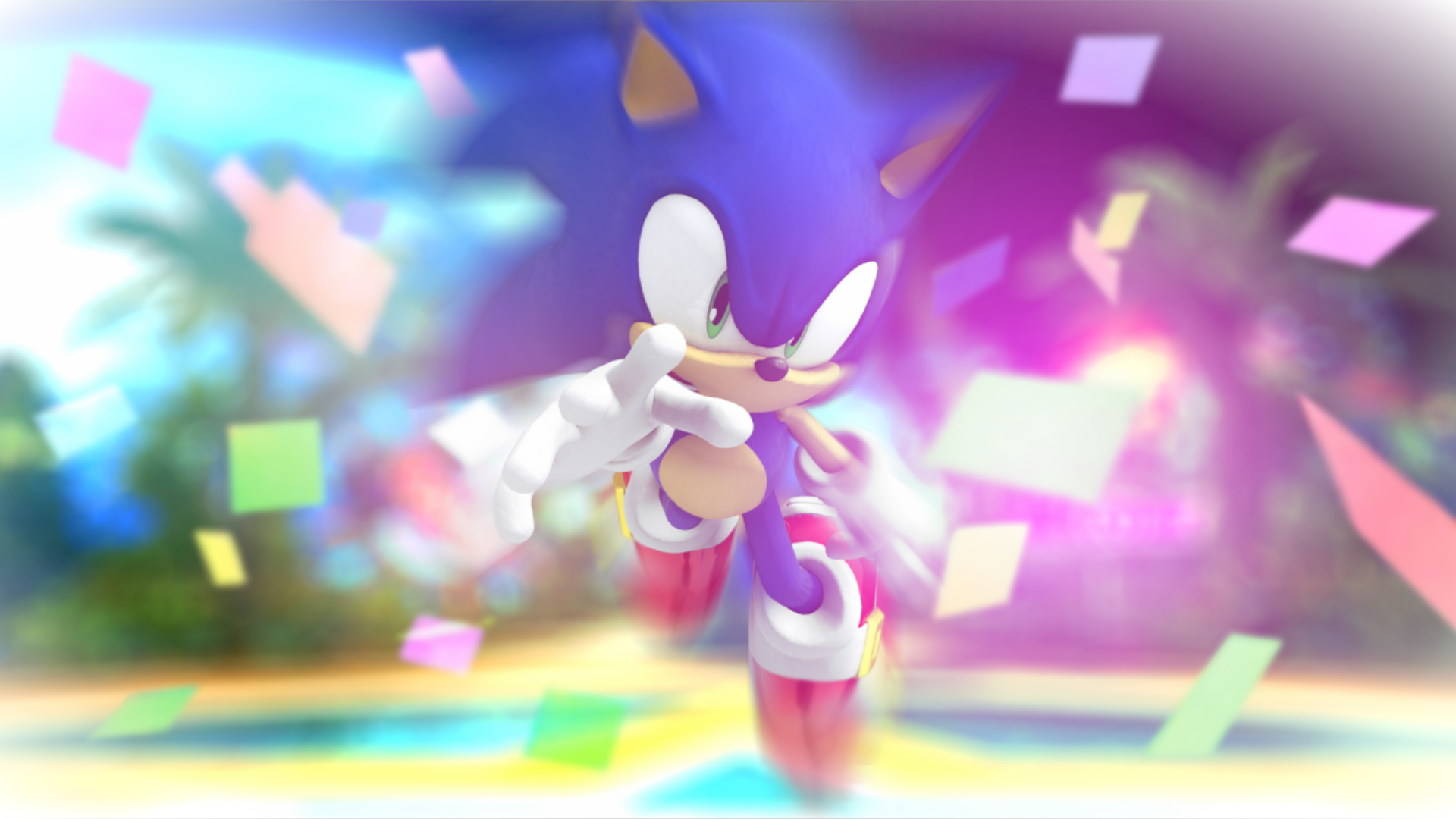 Reach For The Colors Sonic Hedgehog By CrocStar764