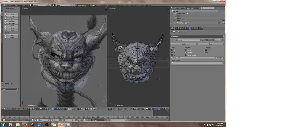 3d sculpting for Ally Rose --sculpt (C) by DevineShade