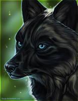 Blackwolf by LLoryZ