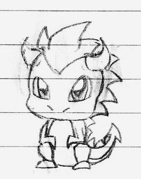Cute Baby Dragon by CrimsonAngelofShadow on DeviantArt