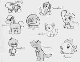 Cute Animals by CrimsonAngelofShadow