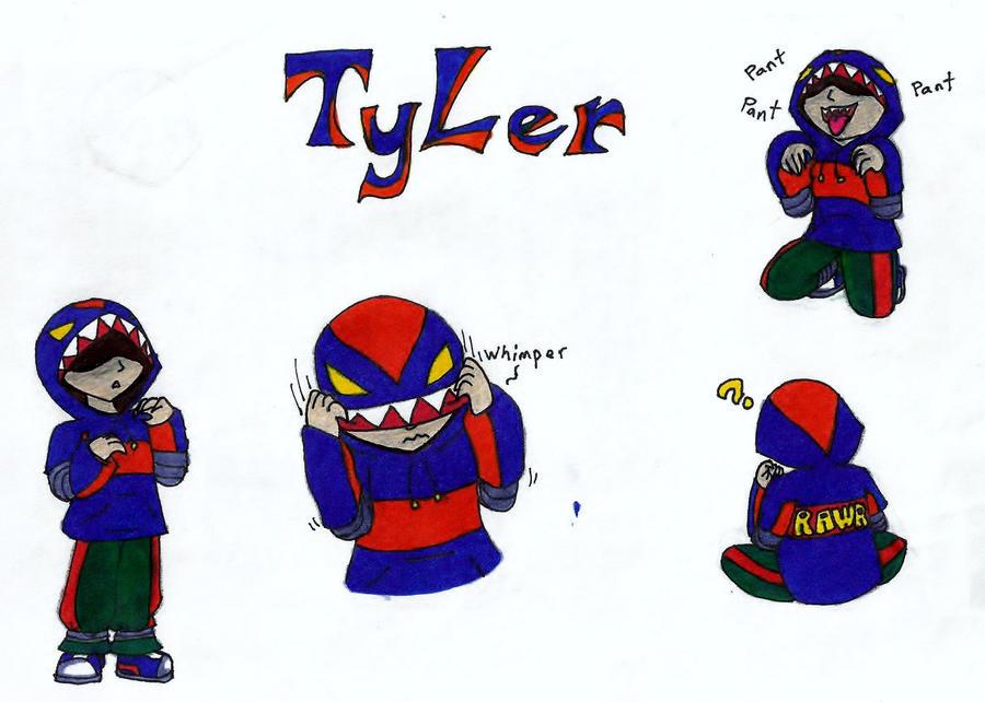 Jiji - Huntress - Art 1 Teacher Tyler_the_hunter_by_crimsonangelofshadow-d31y4q9