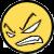 Furious Face Icon by CrimsonAngelofShadow