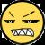Grouchy Brutus Face by CrimsonAngelofShadow