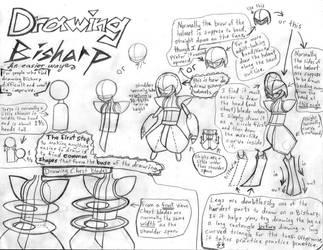 Drawing Bisharp: An Easier Way by CrimsonAngelofShadow