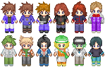 Pokemon Rivals Sprites