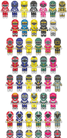 Power Rangers Sprites