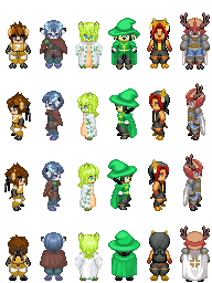 RPG Deer Boys Sprites by MiatheRabbit