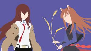 Kurisu   Holo   Wallpaper By Ncoll36