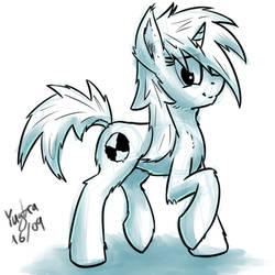 Some fluffy pon