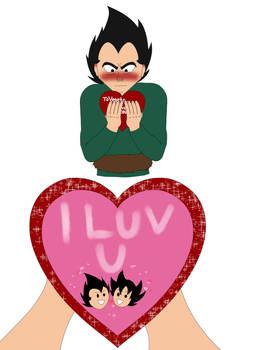 Vegeta's Valentine