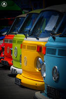 Colorful Volkswagen by Blissedsoul