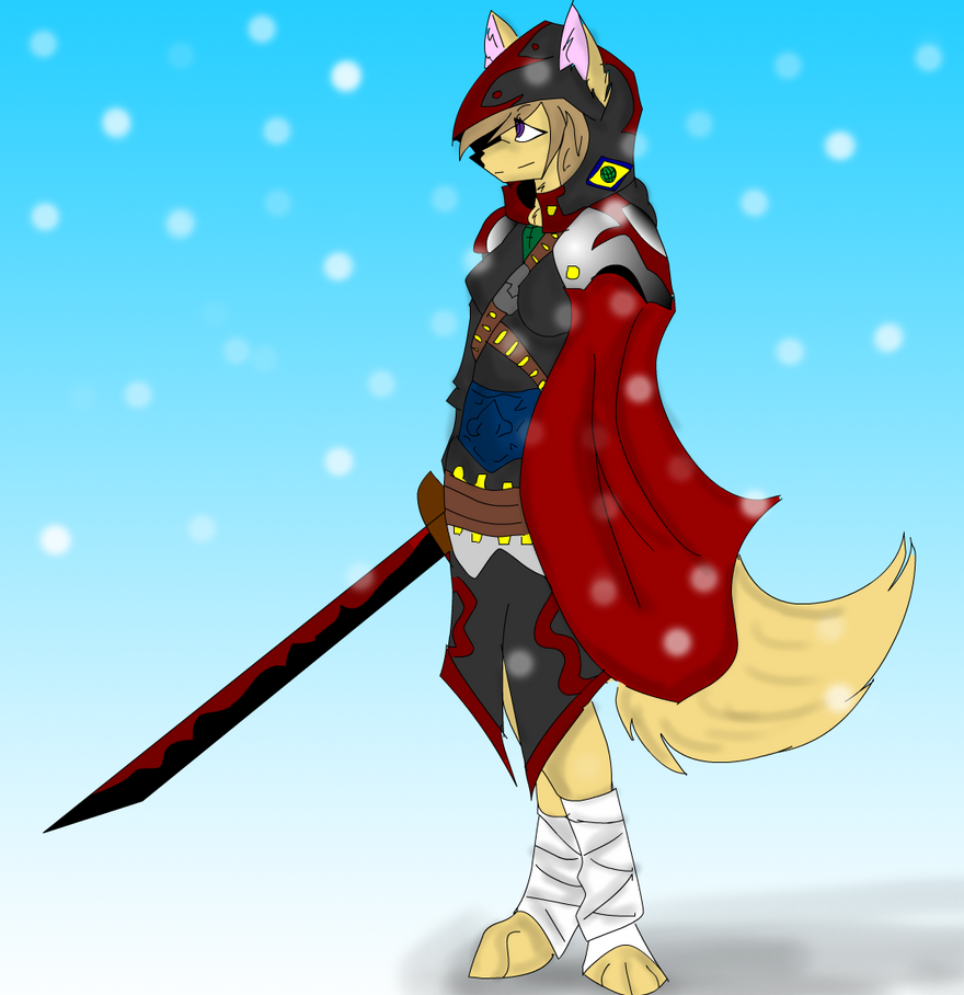 Meet Anneta the Earth Federations assasin by OmegaTheDragon