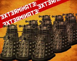 Doctor Who: Dalek Wallpaper by Dystopia3000