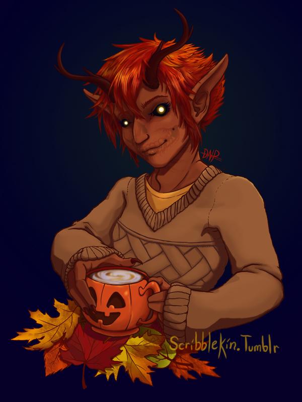 Fall by Scribblekin