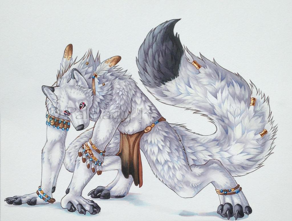 Yuken wolfpaws by DerivedJam