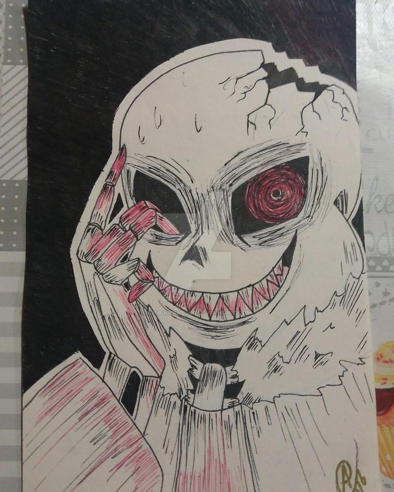 horrortale sans by kidbuuelmejor