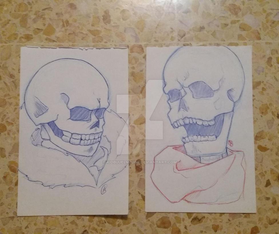 skeleton brothers by kidbuuelmejor