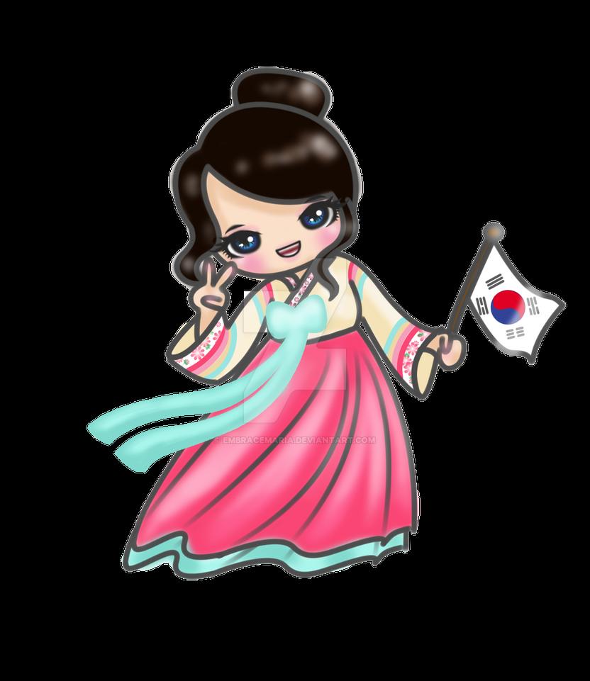Asia, cartoon, clothes, hanbok, korea, korean, traditional ...