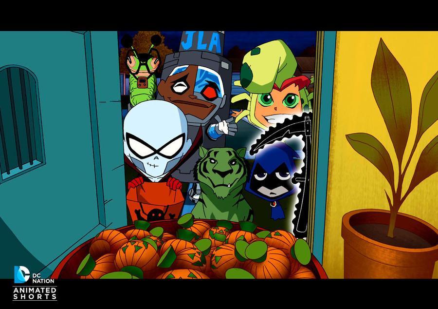 Teen Titans 2012 Dc Short Sneak Peek By Theastersapphire