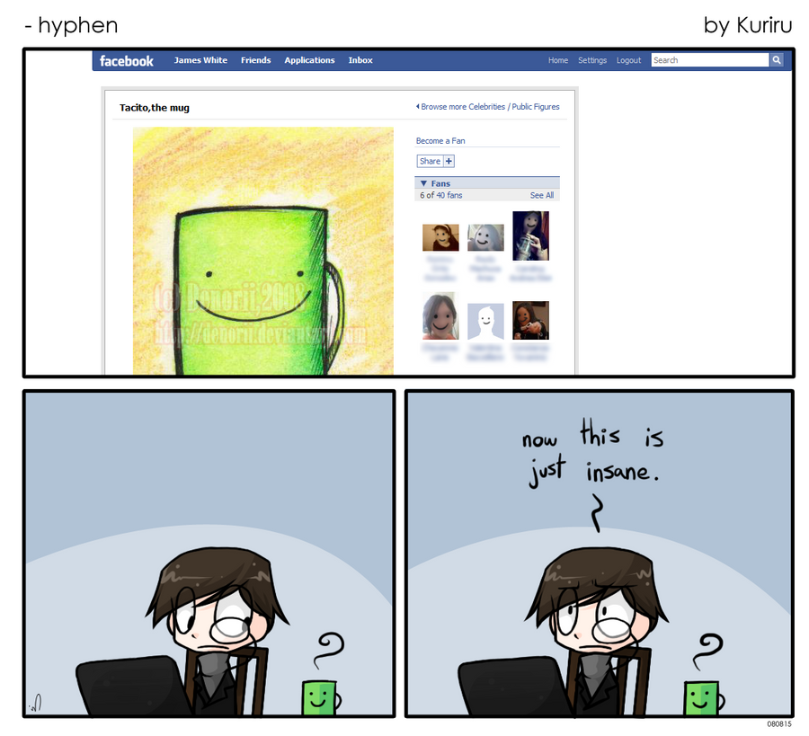 Hyphen - Facebook by kurisquare