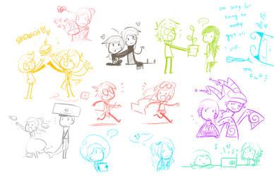 mushy doodles are mushy by kurisquare