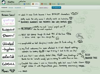 Explaining my Folders by kurisquare
