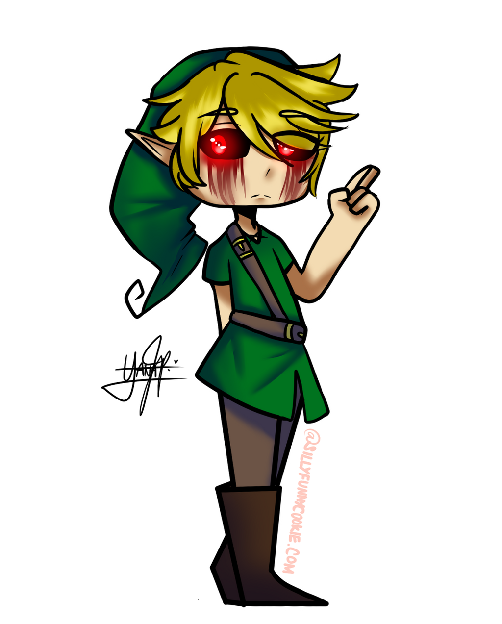 CREEPYPASTA Ben Drowned by SillyFunnyCookie on DeviantArt