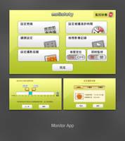 Monitor App UI by btotto
