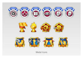 medal icons by btotto