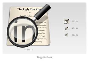Magnifier icon by btotto