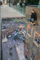 3D Chalk Drawing 6 by ABCalex