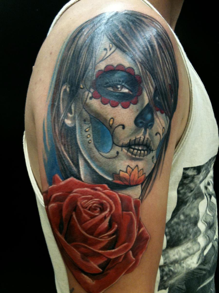 dia de muertos by madcreature