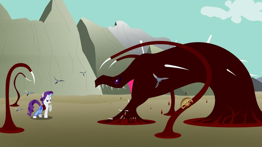 Rarity vs Bloodfang by Cakataro