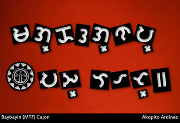 Baybayin MTF - Cajon by plus24seven