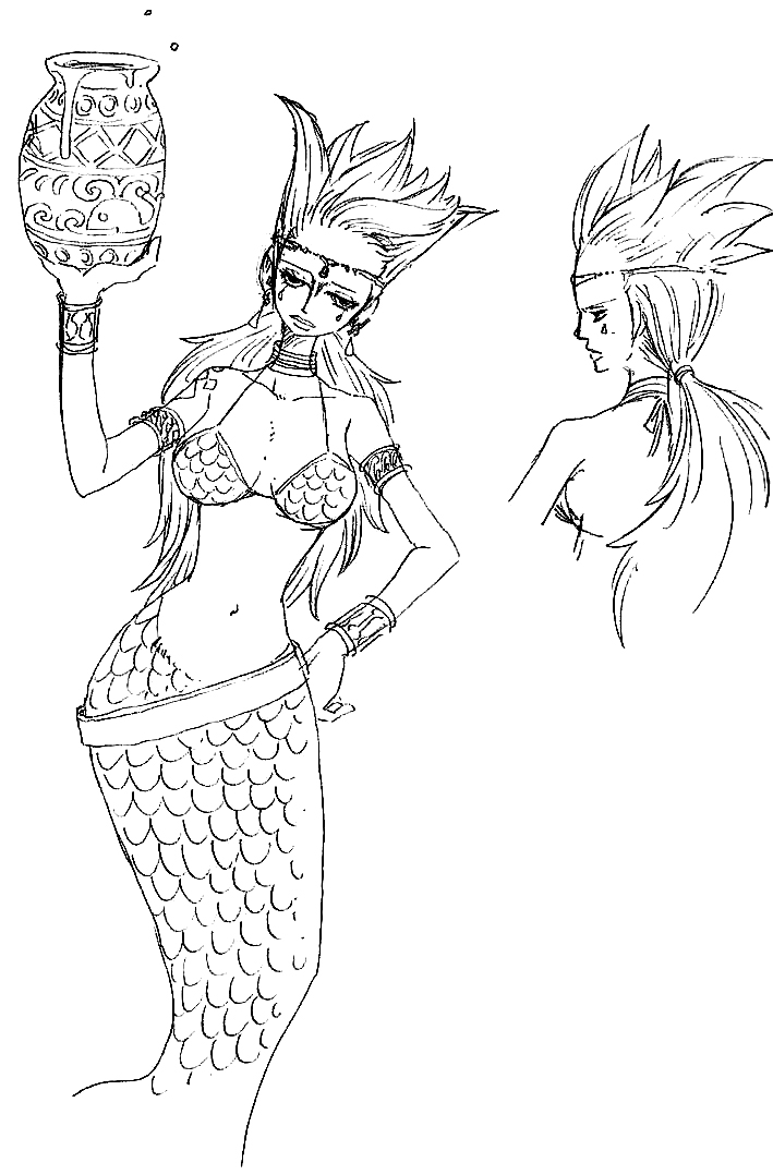 Early Concept By Tweet fairytail On DeviantArt