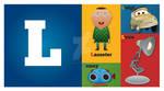 Pixar Alphabet - L