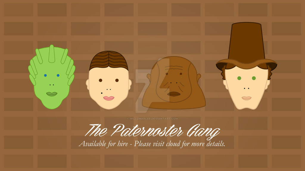 The Paternoster Gang by WillZMarler
